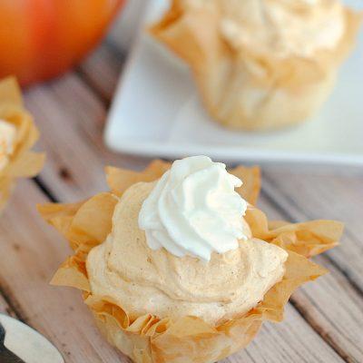 Pumpkin Cream Pies Recipes