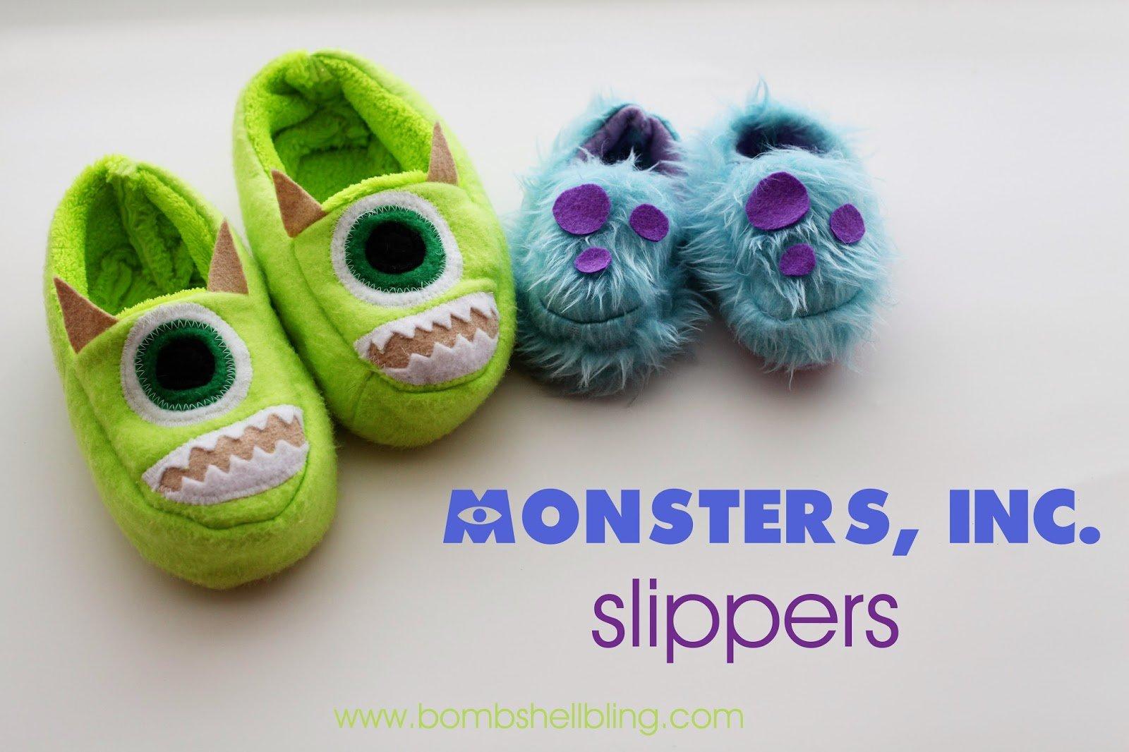 Monster Inc Slippers 4