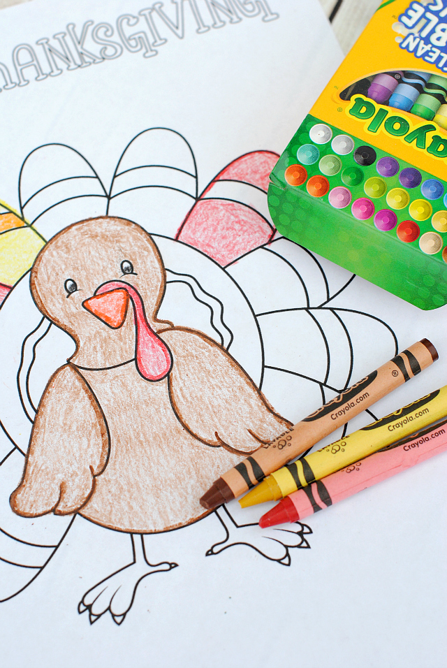 free printable thanksgiving coloring pages - Thanksgiving Color Pages Free