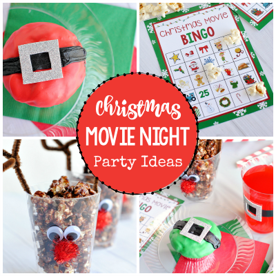 Christmas Movie Night Party Ideas