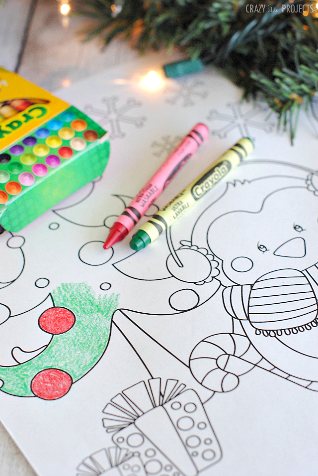 small coloring pages for christmas - photo#41