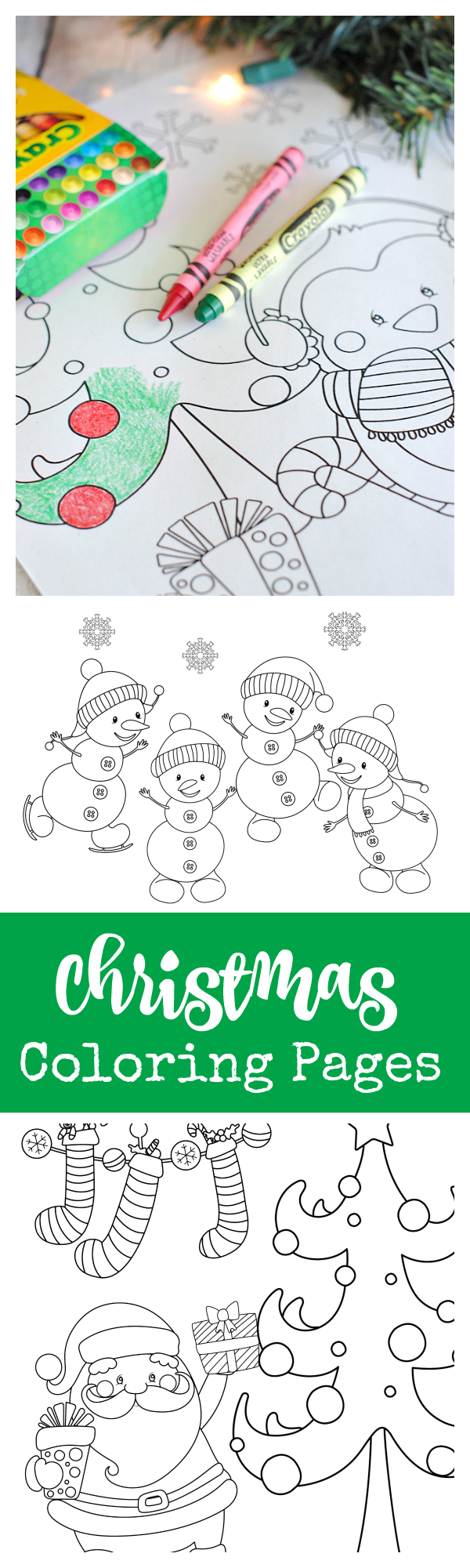 Free coloring pages for christmas printable - Free Printable Christmas Coloring Pages