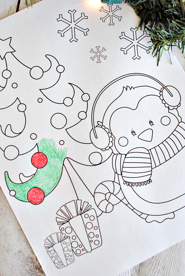 Free printable christmas coloring pages crazy little for Holiday coloring pages