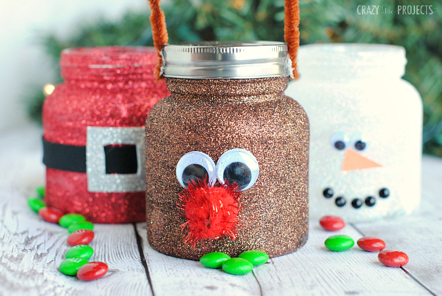 Christmas Mason Treat Jars
