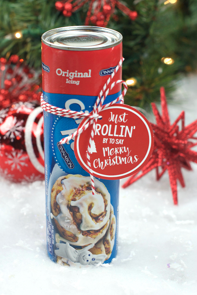 Cinnamon Roll Neighbor Gift