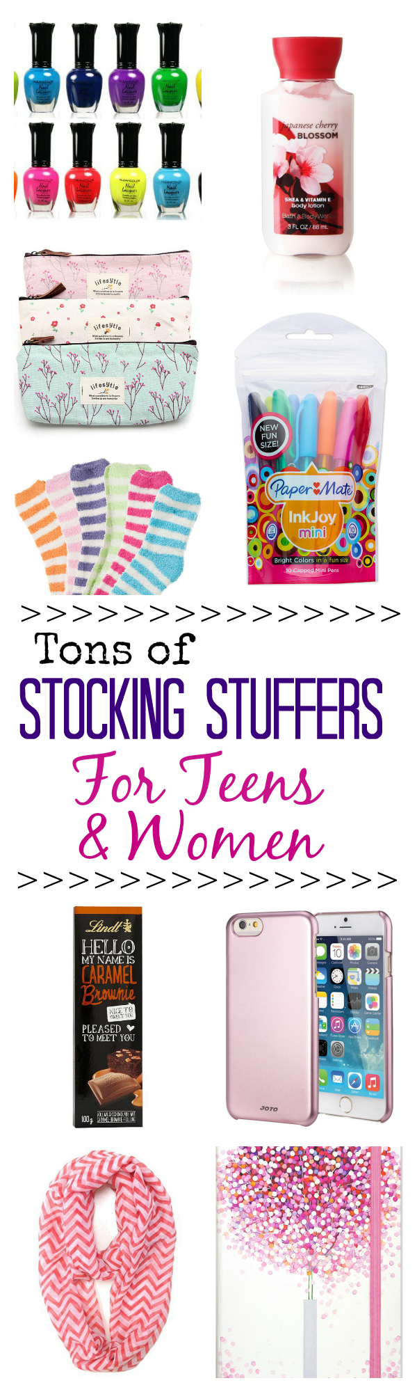 Stocking stuffer ideas for women and teenage girls