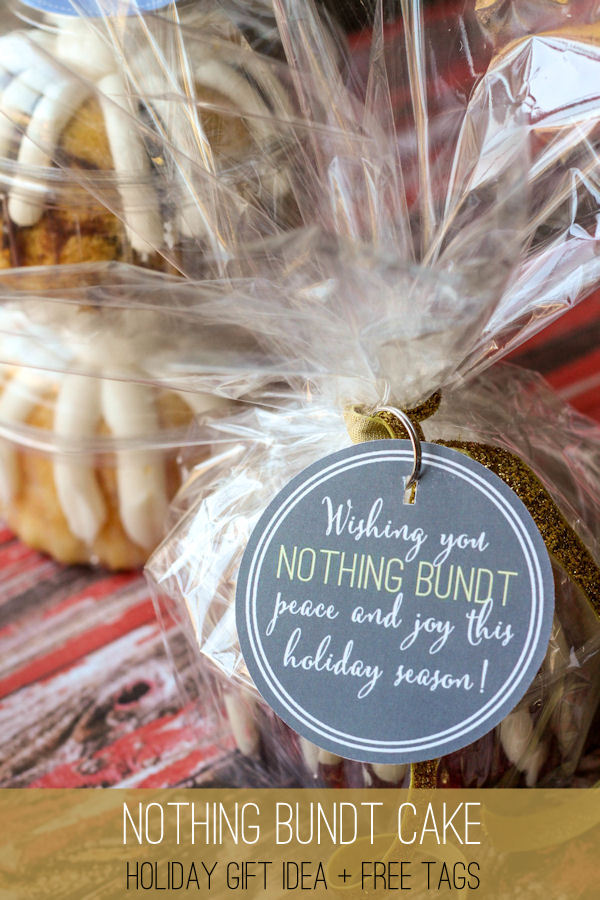 nothing-bundt-holiday-gift-1 - 25 Cheap Gifts For Christmas-Under $5 - Crazy Little Projects