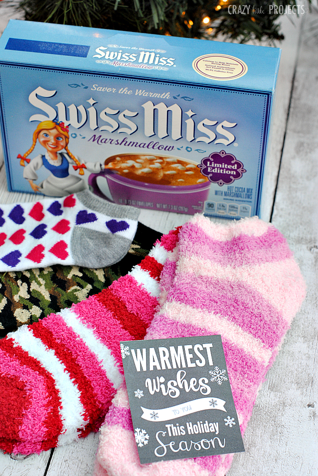 Warmest Wishes Neighbor Gift Idea for Christmas