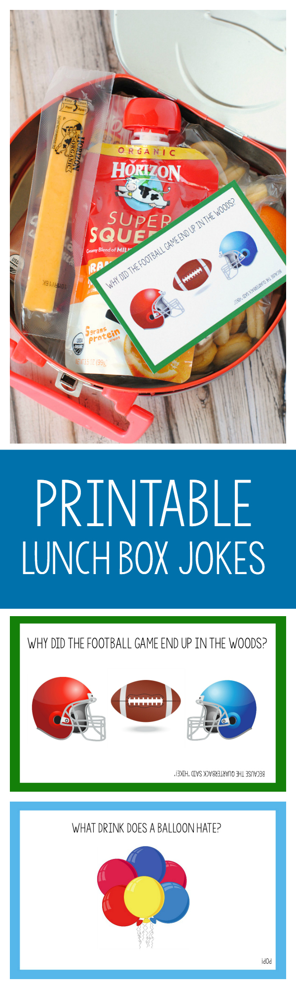 Free Printable Lunch Box Jokes for Kids