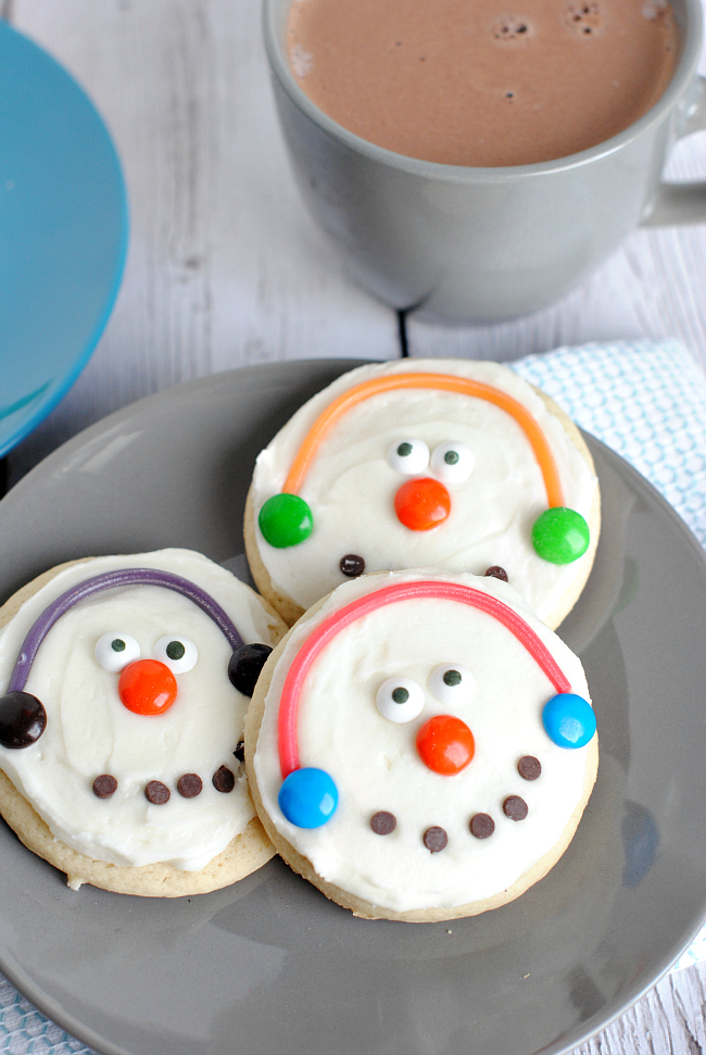 Snowman Cookies to Make with Kids