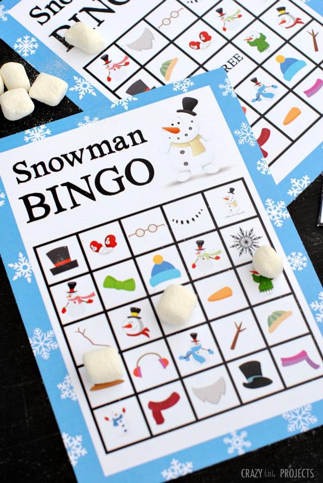 Snowmanbingogame