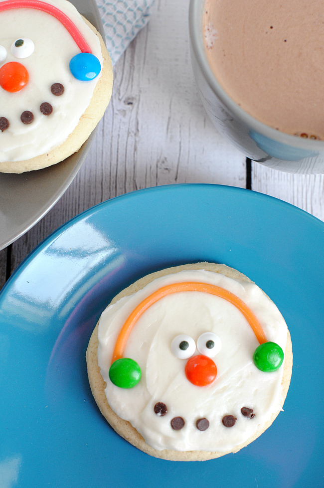Snowman Cookie Recipe