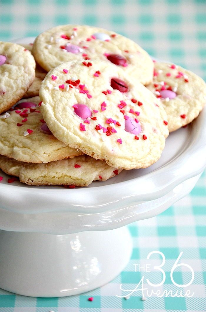 Valentines-Cake-Mix-Cookies-the36thavenue.com-