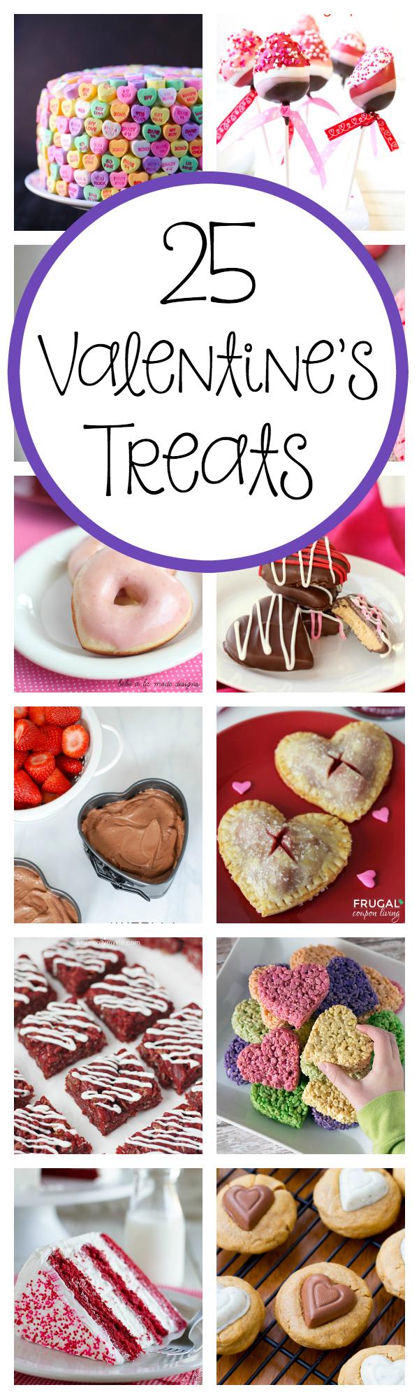 25 Amazing Treat Ideas for Valentine's Day