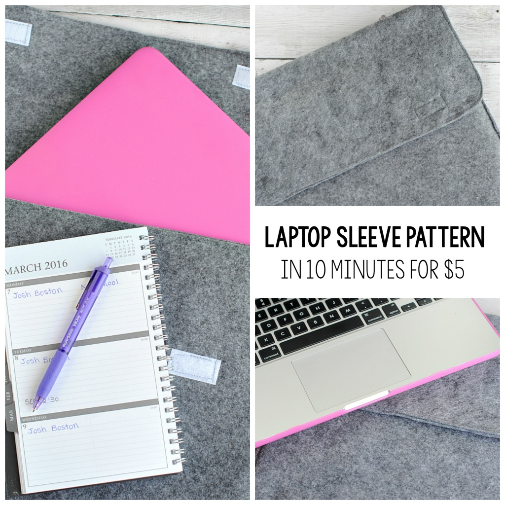 Laptop Sleeve Pattern