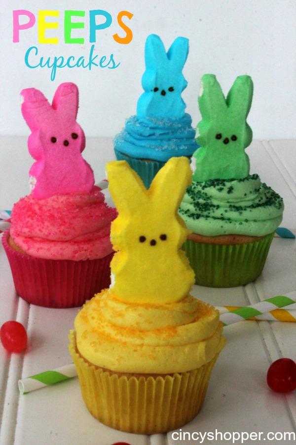 PEEPS-Cupcakes