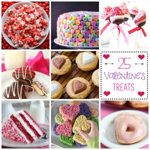 25 Amazing Valentine's Treats
