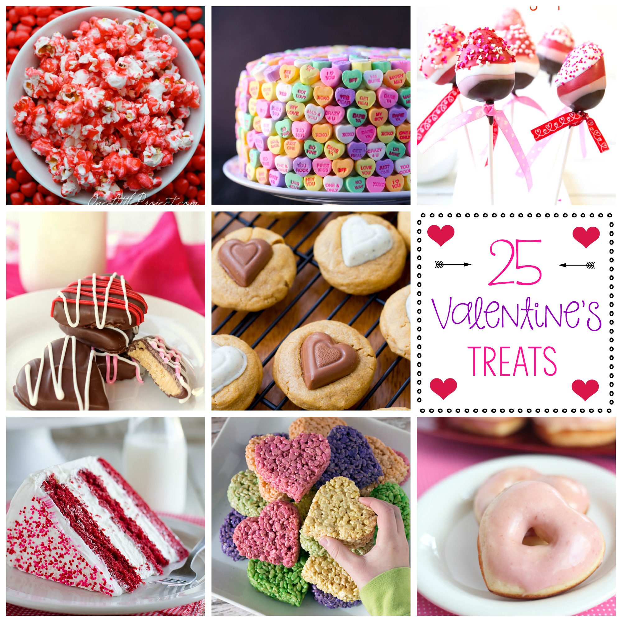 25 Valentine's Treat Ideas