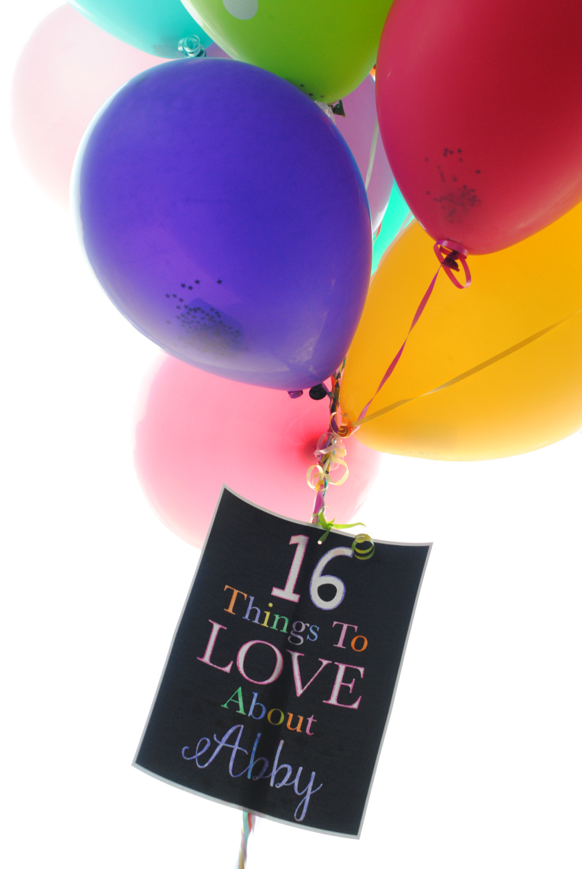 Balloon Gift Idea