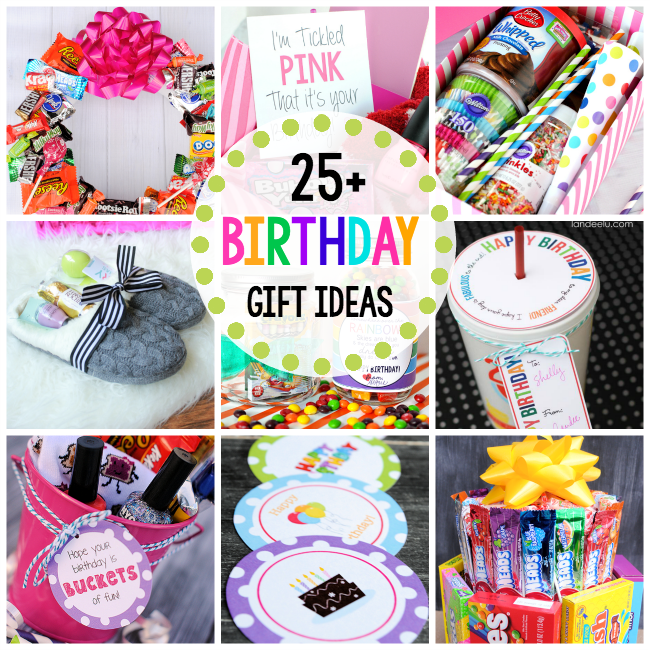 Fun Birthday Gift Ideas for Friends - Crazy Little Projects