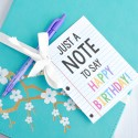Note Birthday Gift
