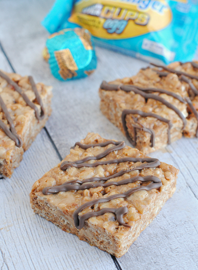 Butterfinger Rice Krispie Treat Recipe
