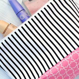 Easy Makeup Bag Tutorial