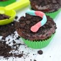 Dirt Pudding Cupcakes