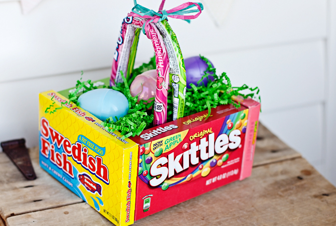 25 great easter basket ideas crazy little projects candy unique easter basket ideas negle Gallery