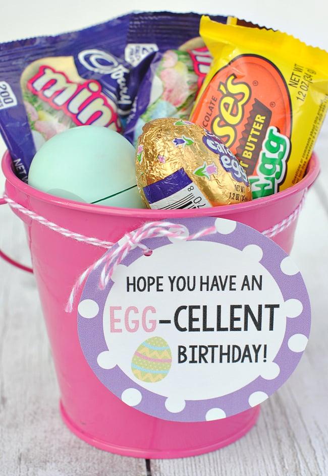 Egg-Cellent Birthday Gift Idea for Easter