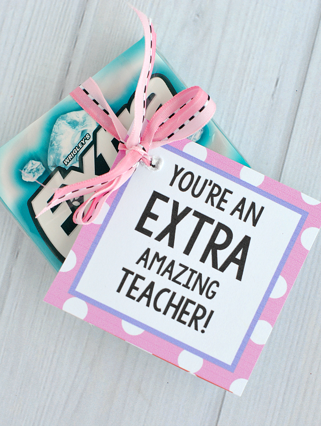 Teacher Appreciation Gift Idea-Candy Bars - Crazy Little ...