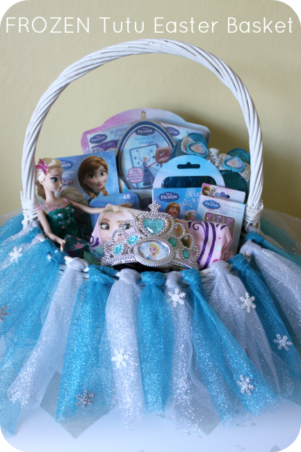 25 great easter basket ideas crazy little projects frozen tutu easter basket disneyeaster1 negle Image collections