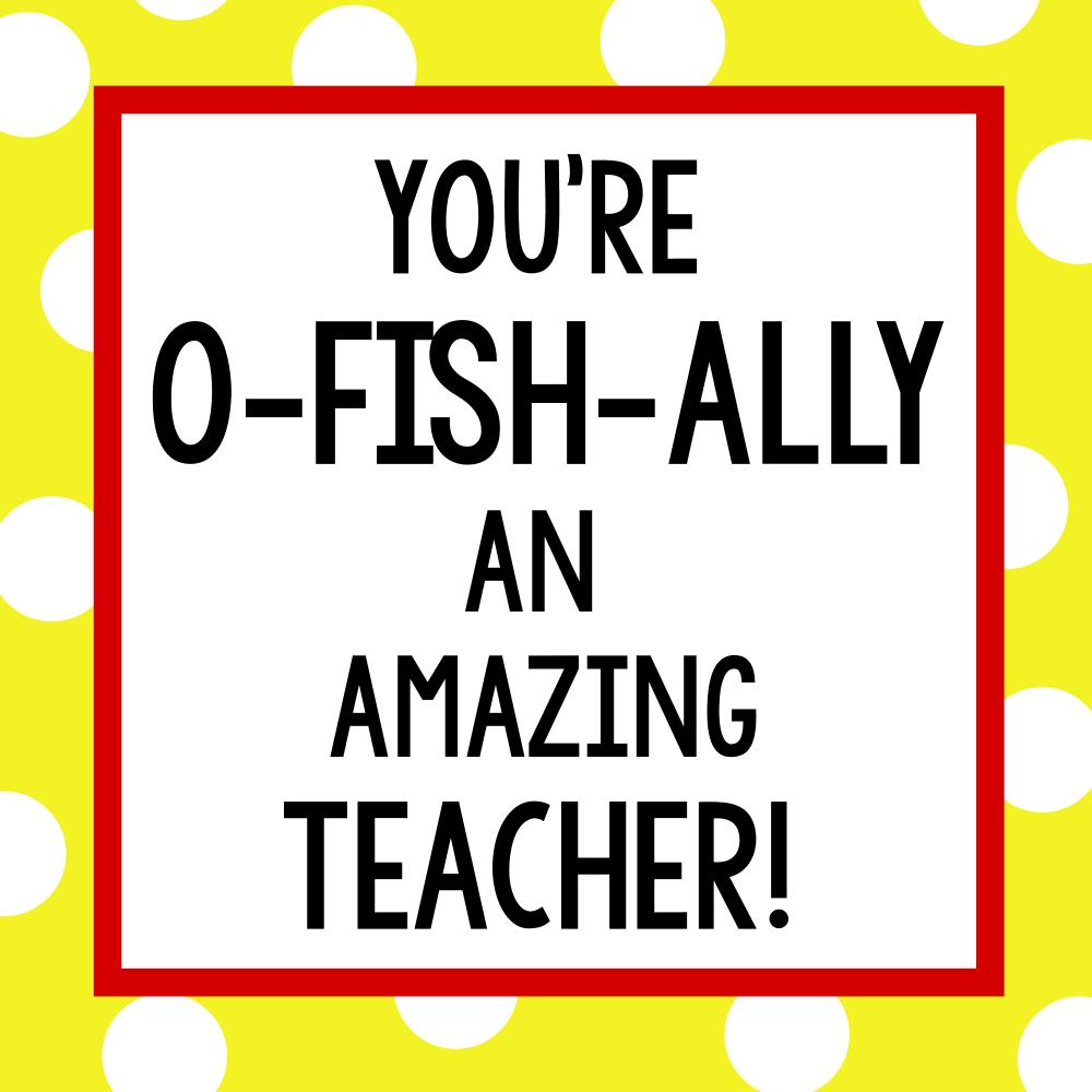 Teacher Appreciation Gift Idea-Candy Bars - Crazy Little