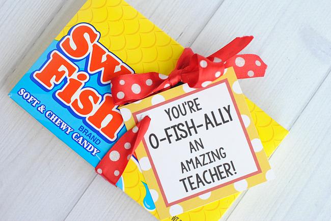 Teacher Appreciation Gift Idea-Candy Bars - Crazy Little ...