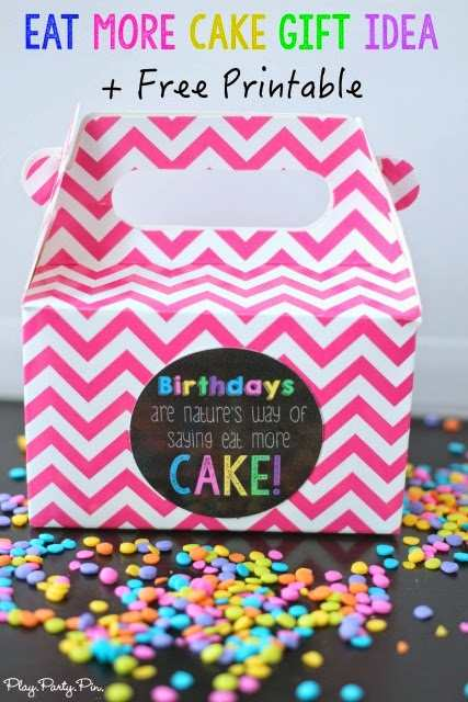 Fun birthday gift ideas for friends crazy little projects for Easy presents to make for friends