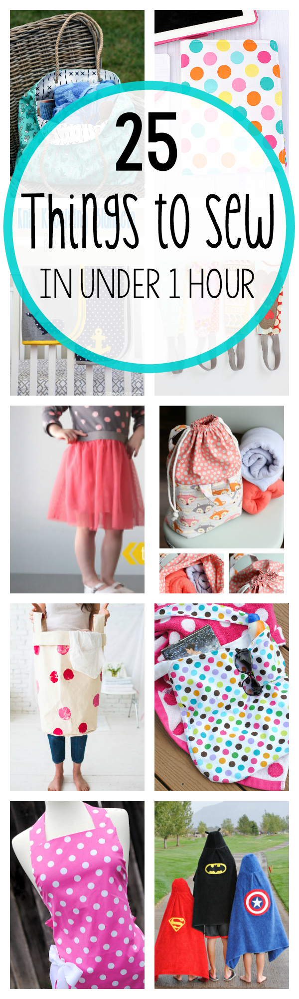 Easy Sewing Projects 25 Things To Sew In Under 1 Hour