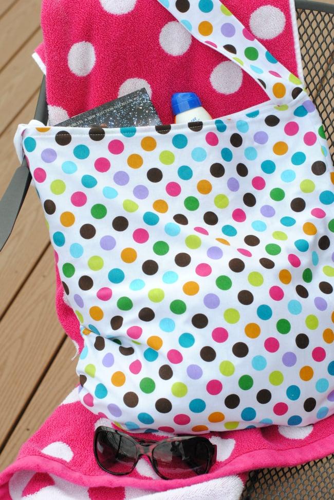 Summer Pool Bag Tutorial