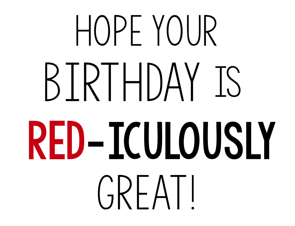 Rediculousbirthdaytag