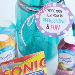 Refreshing Birthday Gift Idea
