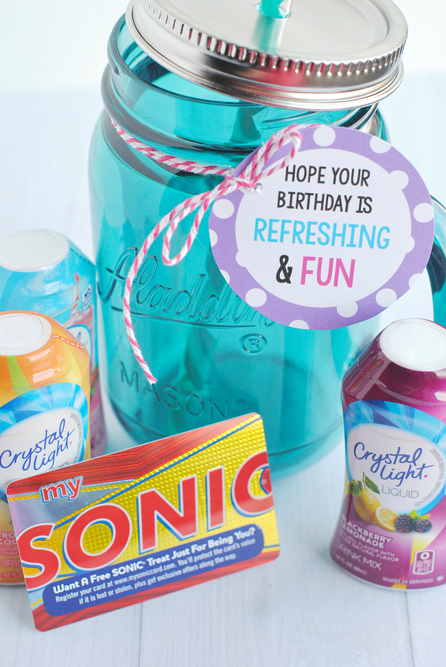 Cute and Easy Birthday Gift Idea!