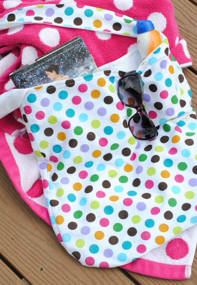 Free Summer Pool Bag Pattern