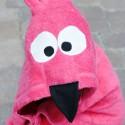 Flamingo Hooded Towel Tutorial