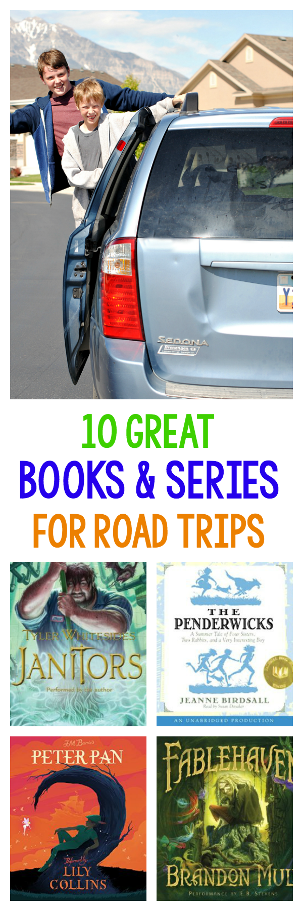 Great Books and Series to Listen to on Road Trips
