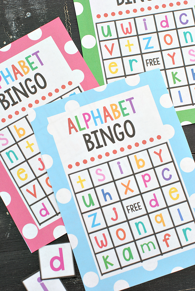 Lowercase alphabet bingo game crazy little projects alphabet bingo game solutioingenieria Images