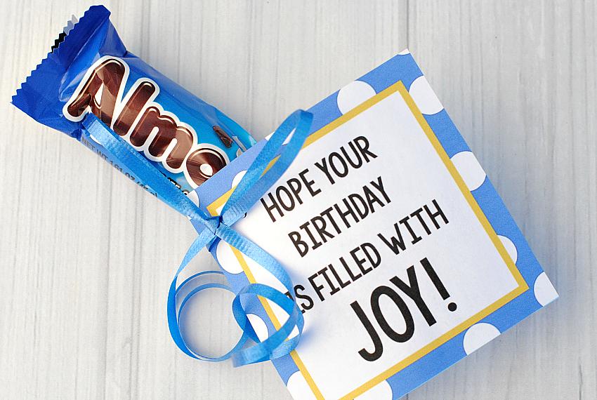 Almond Joy Birthday Gift Idea