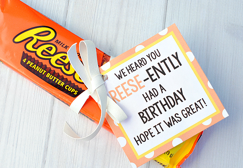Reese's Birthday Tag