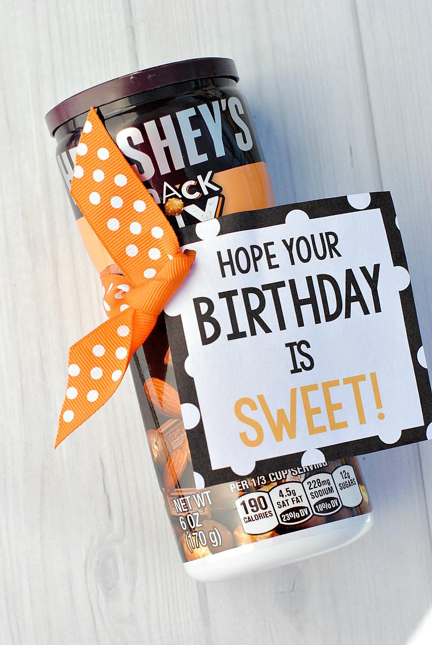 Sweet Birthday Tag