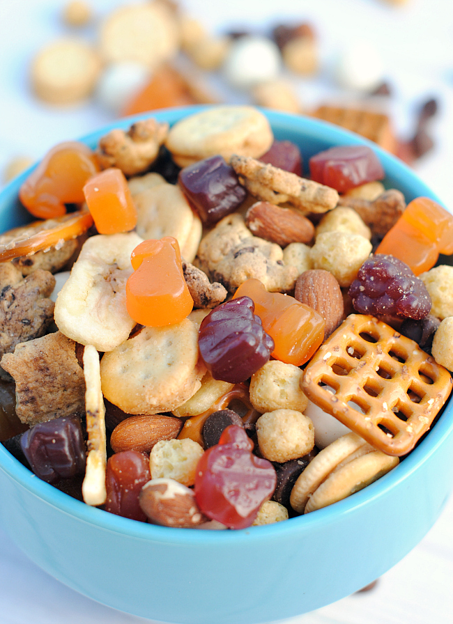 Fun Kids Snack Mix Recipe
