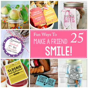25 Ways to Make Someone Smile :)
