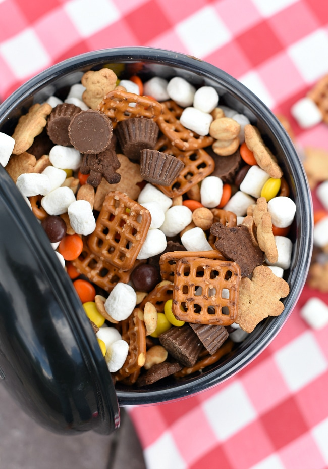 Peanut Butter S'mores Snack Mix